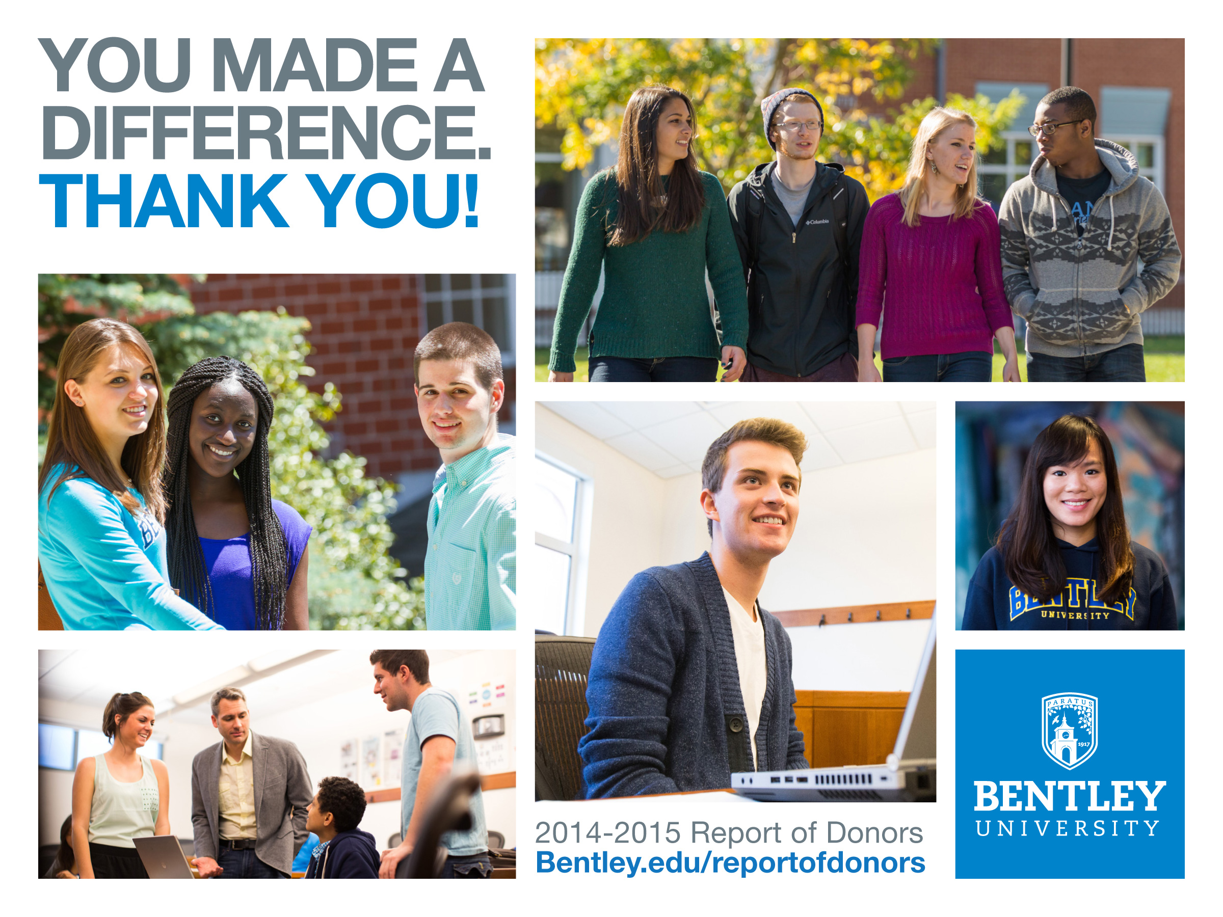 Bentley alumni donor report large