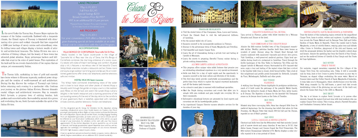 Italy brochure large