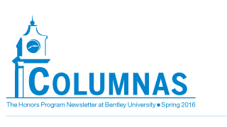 Bentley University Columnas Newsletter thumb