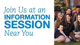 Bentley University Junior Information Session postcard thumb
