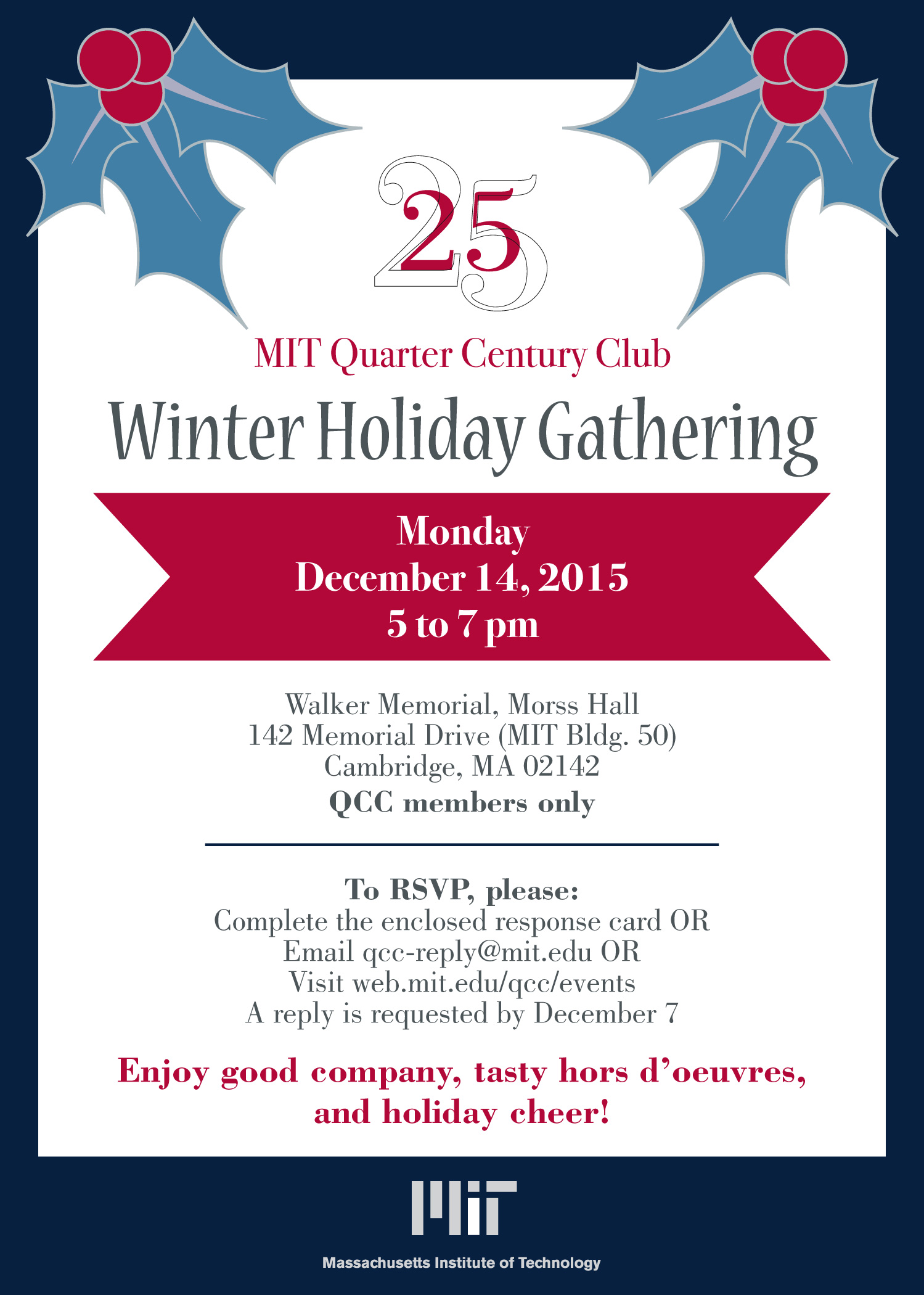 QCC Winter Holiday Gathering  large